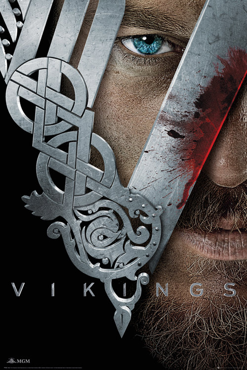 Vikings Key Art Maxi Poster