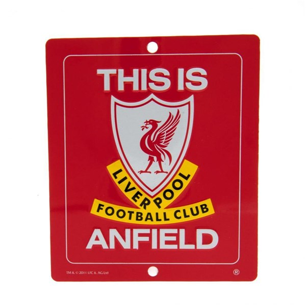 Liverpool F.C. This Is Anfield Sign SM