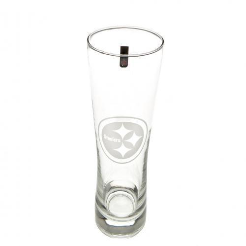 Pittsburgh Steelers Tall Beer Glass