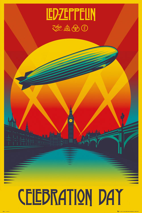 Led Zeppelin Celebration Day Maxi Poster