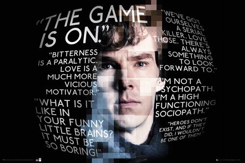 Sherlock Quotes Maxi Poster