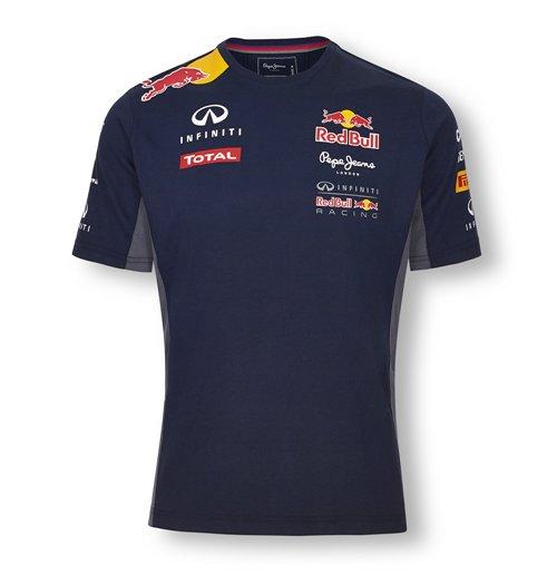 Infiniti red bull racing team t shirt 2015 kids for only for Red bull logo shirt