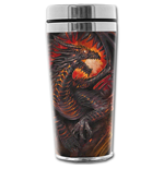 Dragon Collage - Thermo Travel Mug - Flask 0.45L