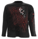Death Blood - Longsleeve T-Shirt Black