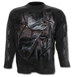 Dragon Kingdom - Longsleeve T-Shirt Black