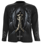 Death Prayer - Longsleeve T-Shirt Black