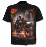 Steam Punk Rider - T-Shirt Black