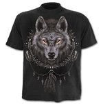 Wolf Dreams - T-Shirt Black