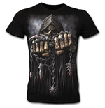 Game Over - Fitted Fine Combed T-Shirt Black