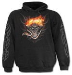 Wheels Of Fire - Hoody Black
