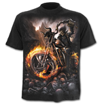 Wheels Of Fire - T-Shirt Black