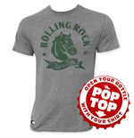 ROLLING ROCK Pop Top Horse Logo T-Shirt
