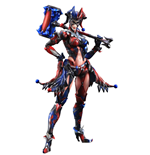 DC Comics Variant Play Arts Kai Action Figure Harley Quinn 25 cm