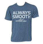 KEYSTONE LIGHT Men's Blue Always Smooth T-Shirt