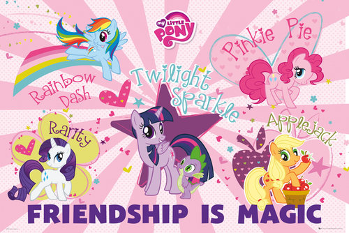 My Little Pony Friendship Is Magic Maxi Poster