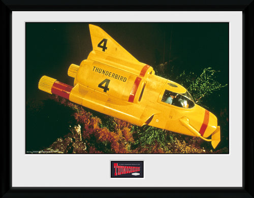 Thunderbirds Classic Thunderbird 4 Collector Print