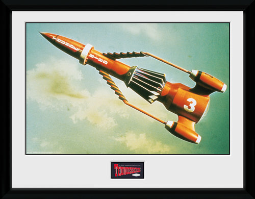 Thunderbirds Classic Thunderbird 3 Collector Print