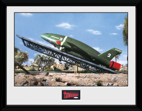 Thunderbirds Classic Thunderbird 2 Station Collector Print