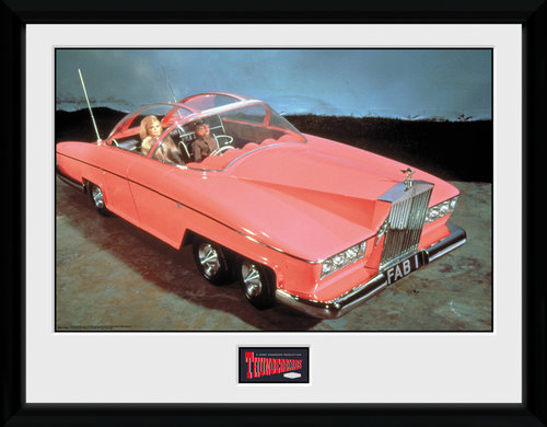 Thunderbirds Classic Fab 1 Collector Print
