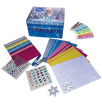 DISNEY Frozen Snow Treasure Box Activity Set (55pcs)