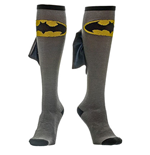 BATMAN Knee High Shiny Cape Socks
