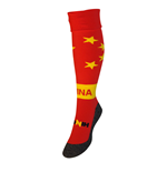 China Country Hingly Socks (Red)