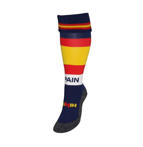 Spain Country Hingly Socks (Red)