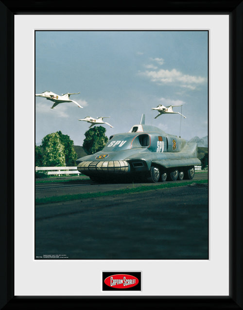 Captain Scarlet SPV Framed Collector Print