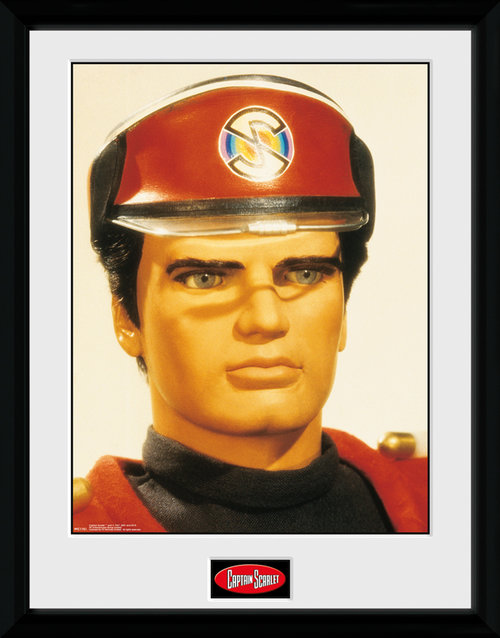 Captain Scarlet Scarlet Framed Collector Print