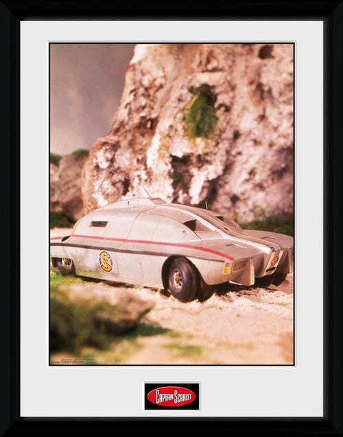 Captain Scarlet MSV Framed Collector Print