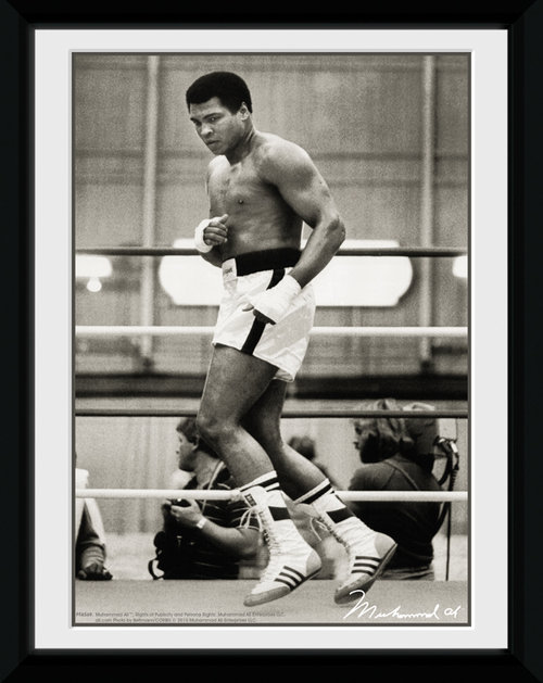 Muhammad Ali Float Framed Collector Print