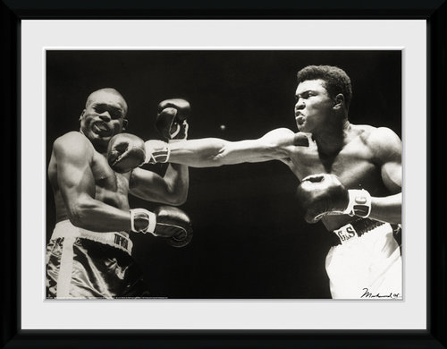 Muhammad Ali Connect Framed Collector Print