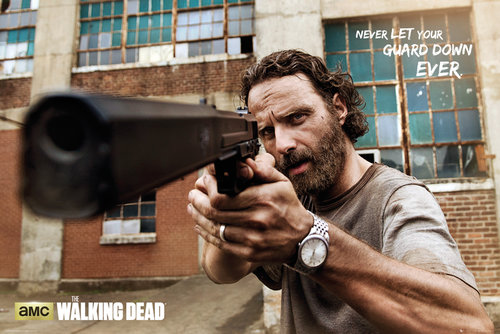 The Walking Dead Rick Gun Maxi Poster
