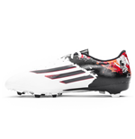 adidas Messi 10.3 Pipe De Barr FG Mens Football Boots (White-Black)