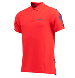 2014-2015 PSG Nike Core Polo Shirt (Red)