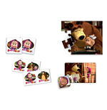 Masha and the Bear Puzzles 137219