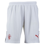 2015-2016 Rangers Home Goalkeeper Shorts (White) - Kids