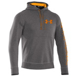 Under Armour 2015 Mens Storm Cotton Graphic Hoody (Carbon Heather)