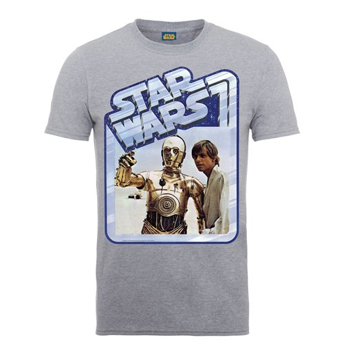 Star Wars T-Shirt C3Luke Poster