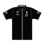 Mercedes AMG Petronas Team Shirt Black 2015