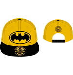 DC COMICS Batman Classic Logo Baseball Cap, Yellow/Black