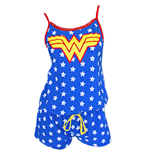 WONDER WOMAN Star Print Women's Romper