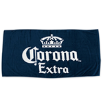 CORONA EXTRA Navy Blue Beach Towel