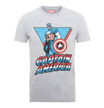 Marvel Comics T-Shirt Captain America Triangle