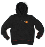 2011-12 Man Utd Nike Core Hooded Top (Black)