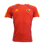 2012-13 Spain Adidas Training Tee (Red)