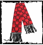 Red checkerboard scarf ANARCHY