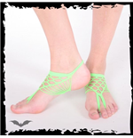 Green foot net.