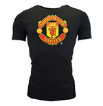2014-15 Man Utd Nike Core Crest Tee (Black)