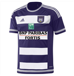 2015-2016 Anderlecht Adidas Home Football Shirt